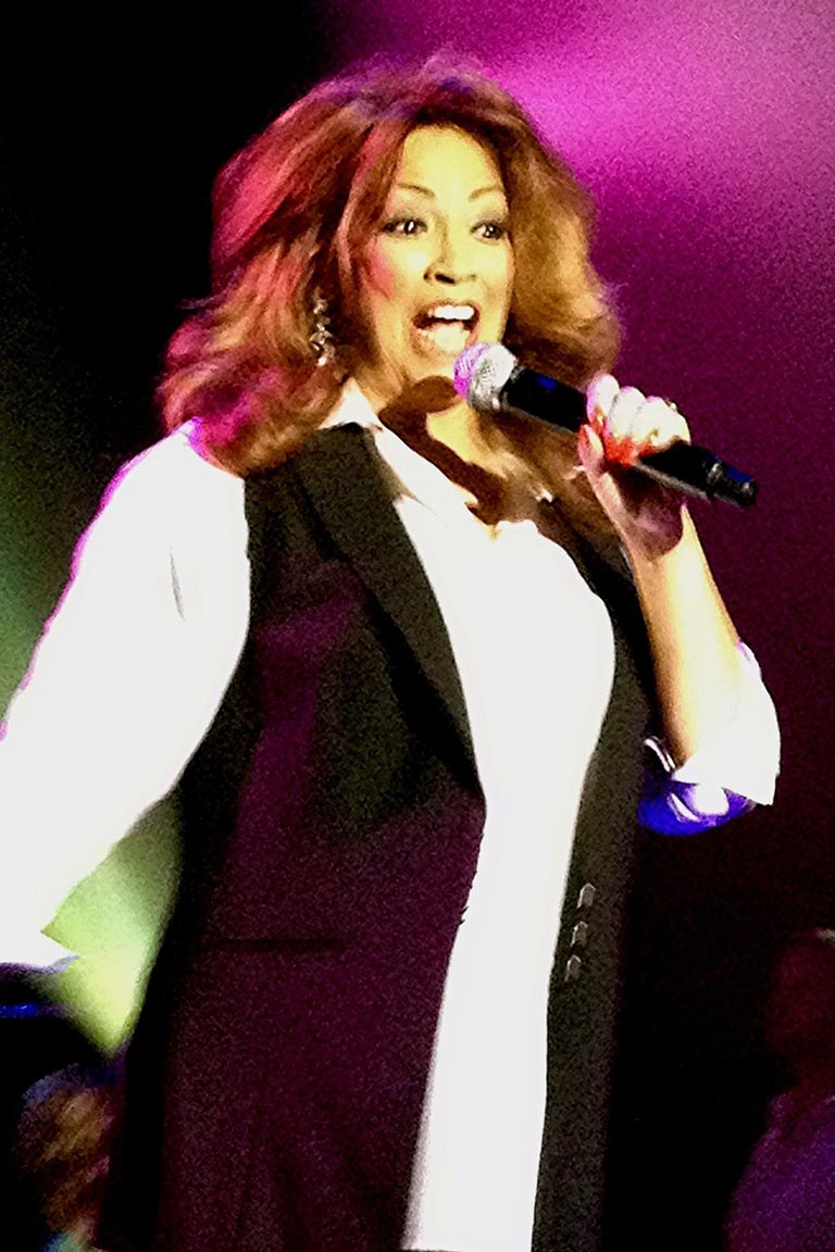 At the Park West in Chicago performing in One Night Stand - 2012
