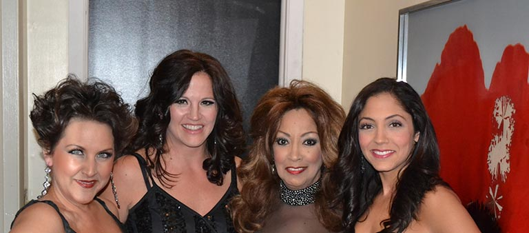 One Night Stand at Park West in Chicao with Lara Philipe, Keely Vasquez, Linda and her daughter Gina Coconato - 2012